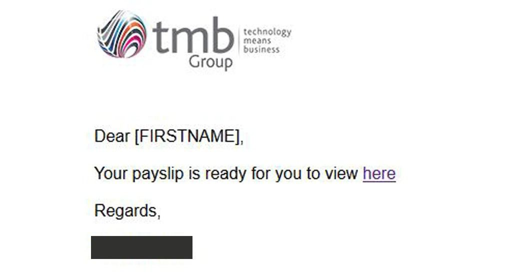 TMB Payslip Email