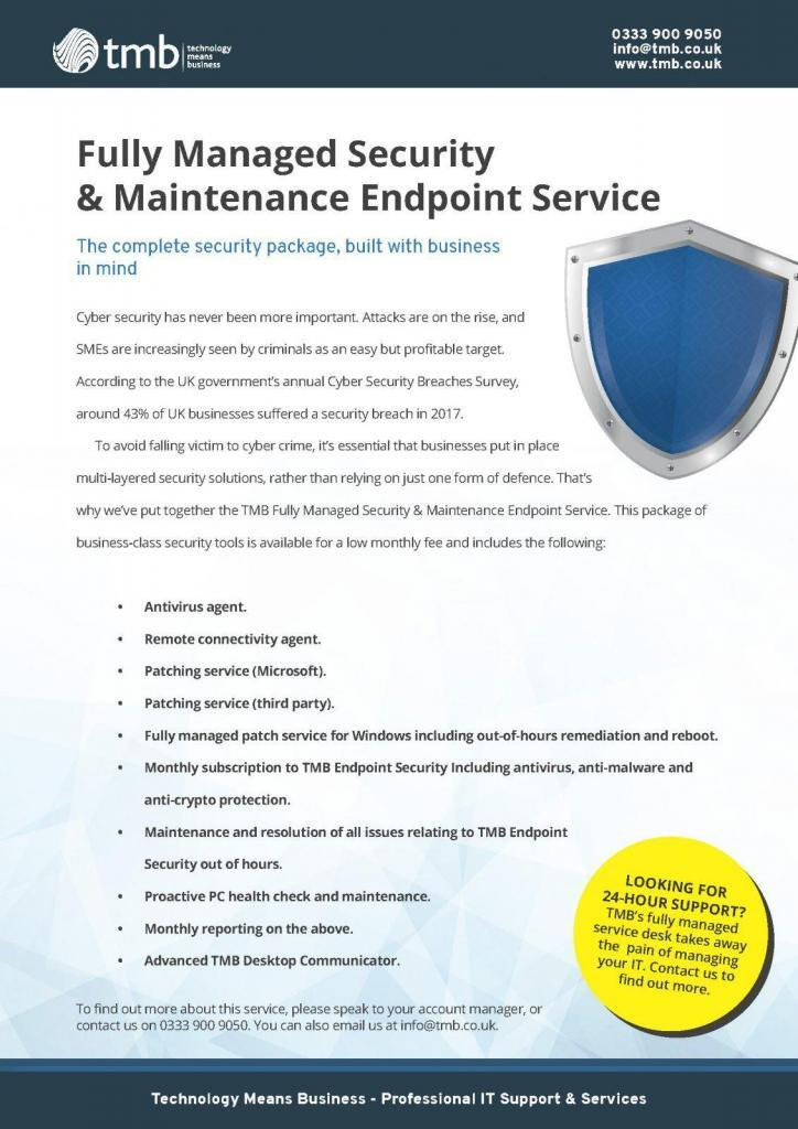 Endpoint Security Suite Infographic